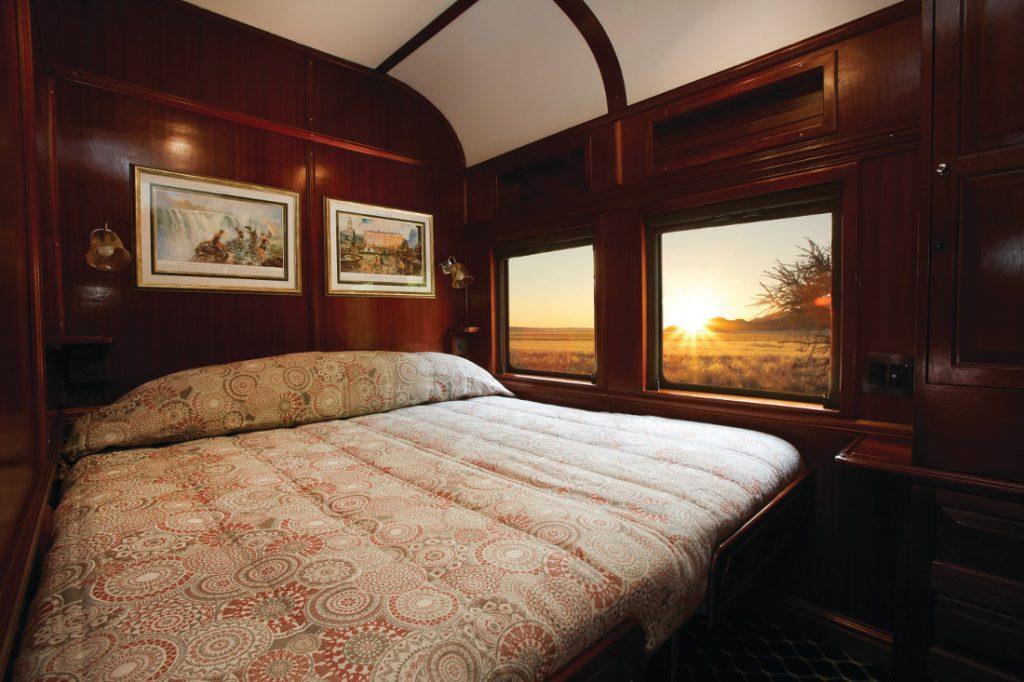 Südafrika Shongololo Express Gold Kabine Iwanowskis Reisen - afrika.de