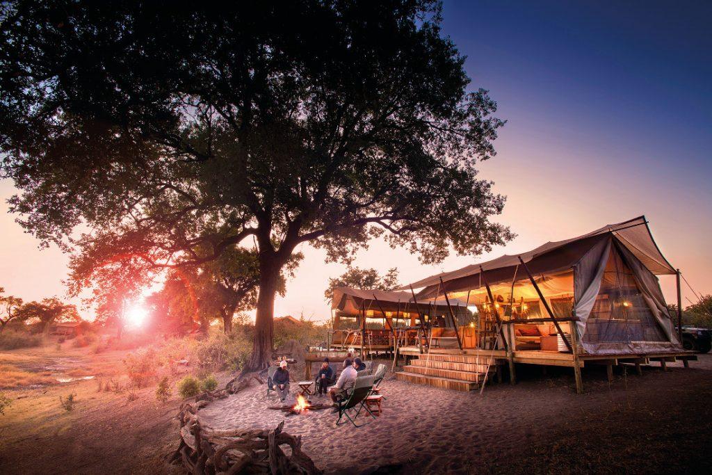Botswana Linyanti Wildlife Reserve Expeditions Camp Iwanowskis Reisen - afrika.de