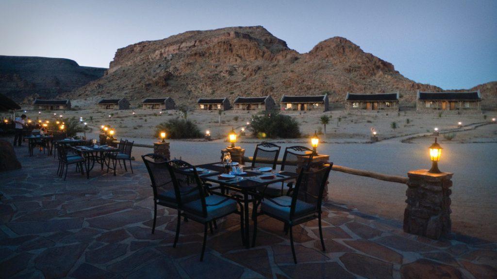 Namibia Fish River Canyon Village Iwanowskis Reisen - afrika.de