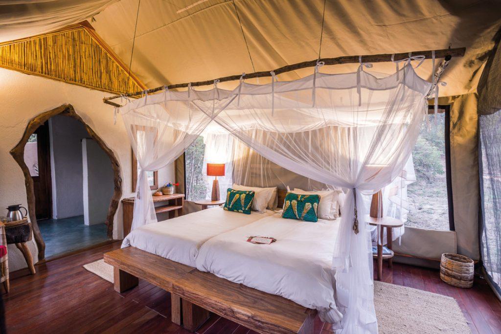 Sambia Kafue NP Kaingu Safari Lodge Unterkunft Iwanowskis Reisen - afrika.de