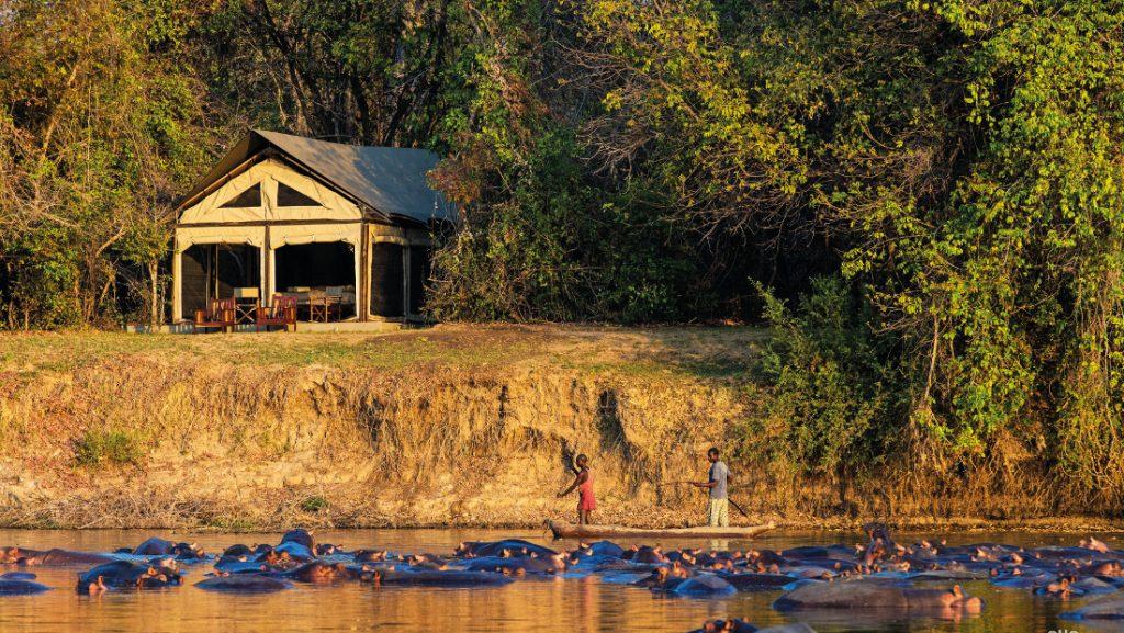 Sambia Luambe National Park Luambe Camp Iwanowskis Reisen - afrika.de