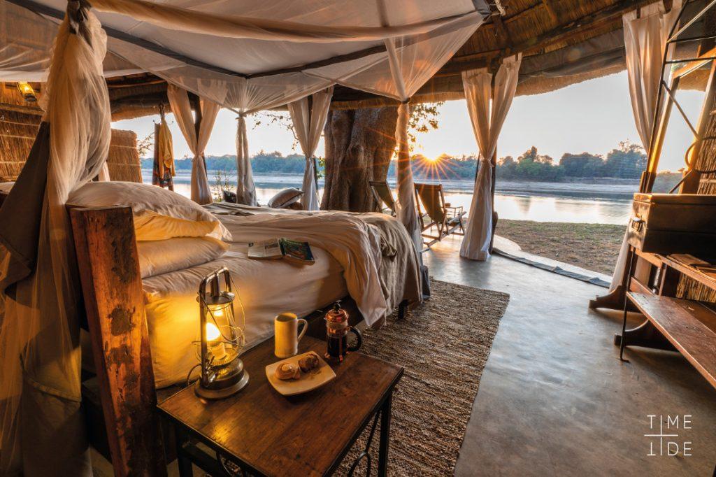 Sambia South Luangwa NP Mchenja Camp Iwanowskis Reisen - afrika.de