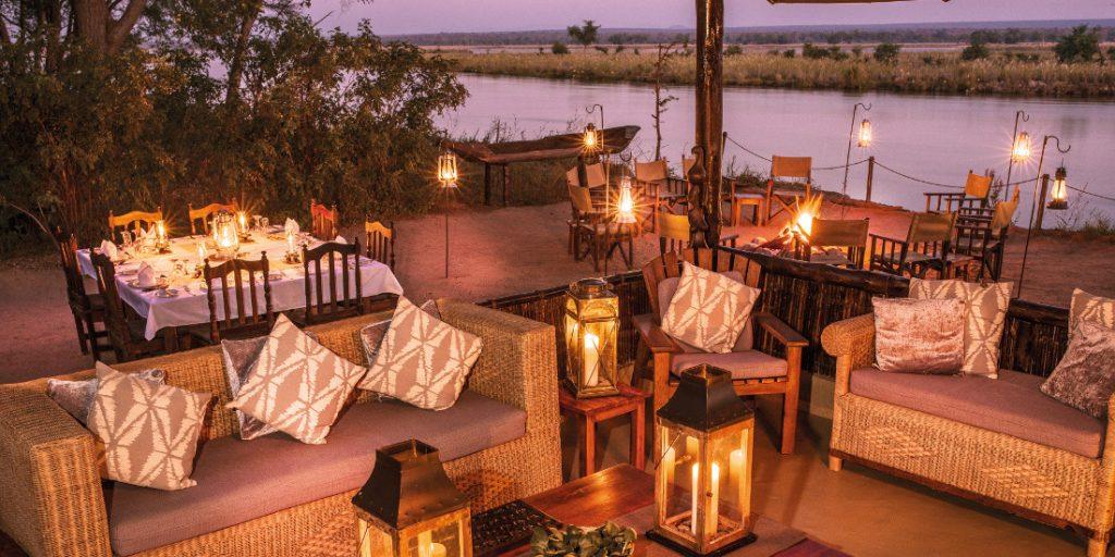 Sambia Lower Zambezi NP Old Mondoro Camp Iwanowskis Reisen - afrika.de