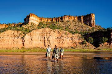 Simbabwe Gonarezhou NP Chilo Gorge Safari Lodge Fußpirsch Iwanowskis Reisen - afrika.de
