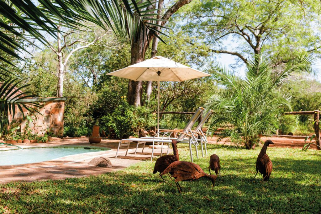 Simbabwe Gonarezhou National Park Nhambo Lodge Iwanowskis Reisen - afrika.de
