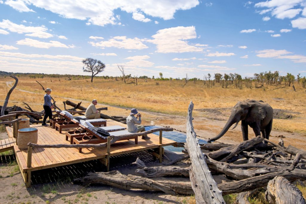 Simbabwe Hwange NP Somalisa Expeditions Camp Iwanowskis Reisen - afrika.de