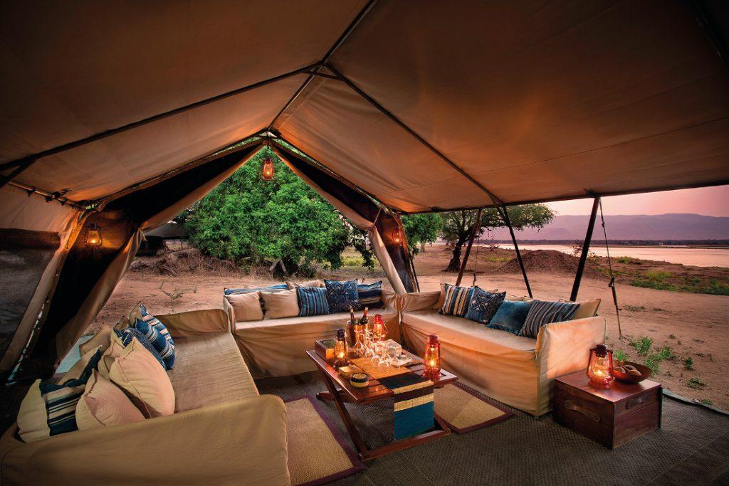 Simbabwe Mana Pools NP Zambezi Expedions Camp Iwanowskis Reisen - afrika.de