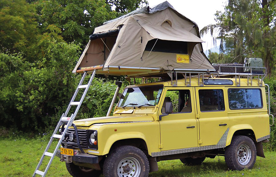 Tansania Selbstfahrertour 4x4 Fahrzeug Dachzelt Iwanowskis Reisen - afrika.de