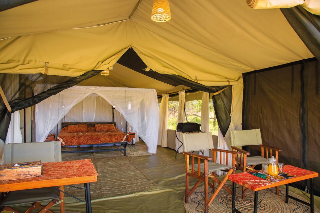 Tansania Serengeti Thorn Tree Camp Safarizelt Iwanowskis Reisen - afrika.de