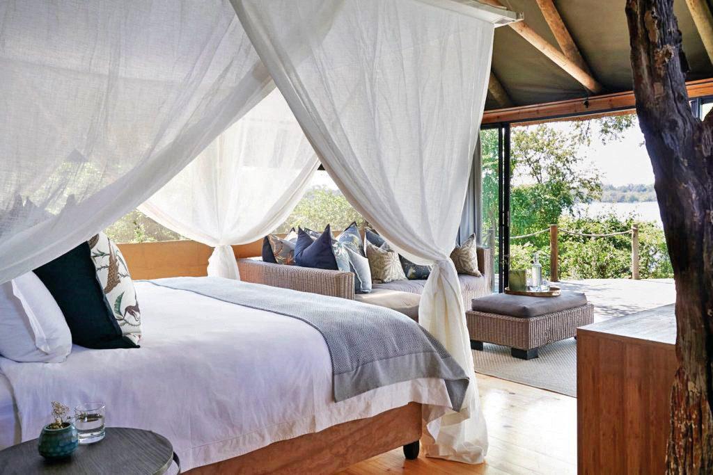 Simbabwe Victoria Falls River Lodge Zimmer Iwanowskis Reisen - afrika.de