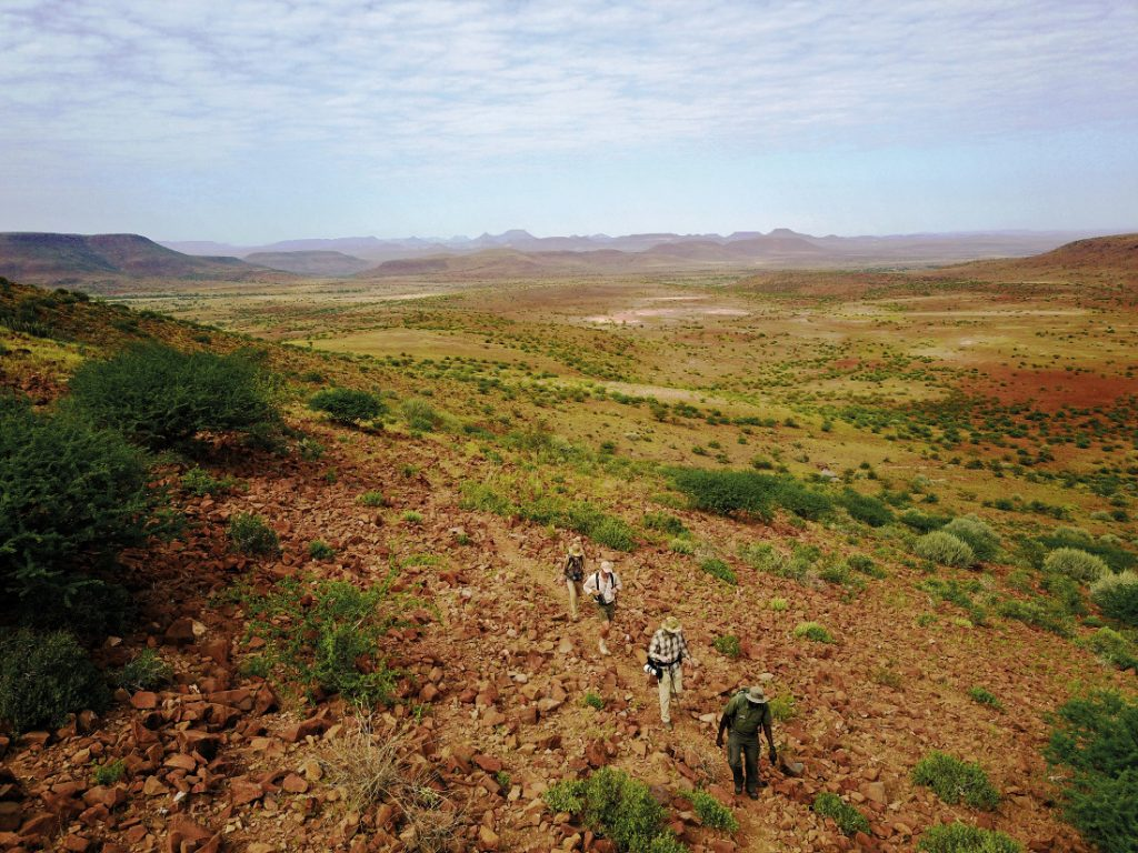 Namibia Grootberg Etendeka Mountain Trail Wanderung Iwanowskis Reisen - afrika.de