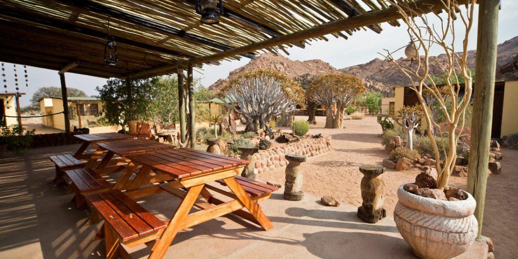 Namibia Tirasberge Namtib Desert Lodge Iwanowskis Reisen - afrika.de