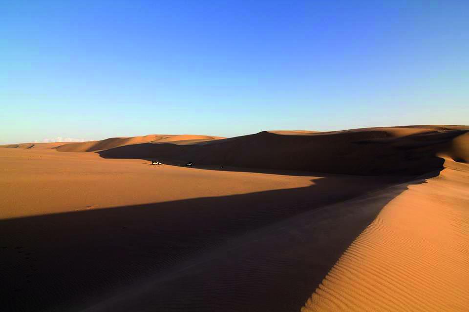 Namibia Sklettküste Dünen Iwanowskis Reisen - afrika.de