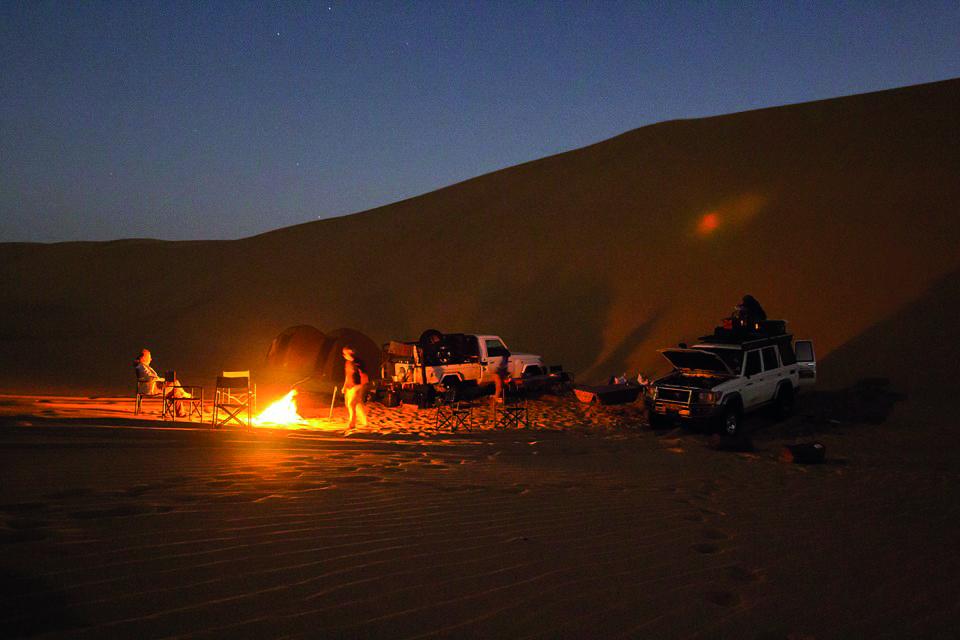 Namibia Sklettküste Zeltcamp Iwanowskis Reisen - afrika.de