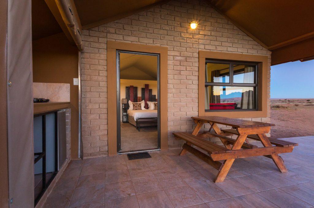 Namibia Sossusvlei Desert Camp Unterkunft Iwanowskis Reisen - afrika.de