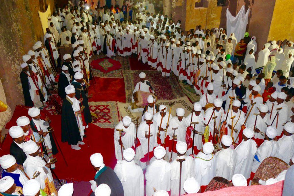 Äthiopien Lalibela Kirchenzeremonie Iwanowskis Reisen - afrika.de