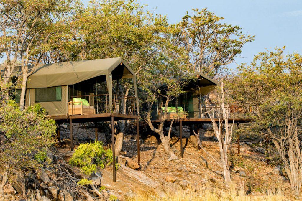 Namibia Damaraland Huab under Canvas Safarizelte Iwanowskis Reisen - afrika.de