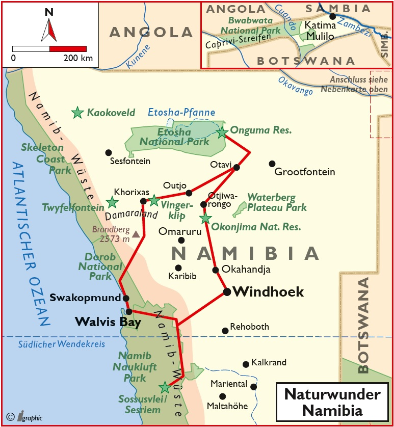 Namibia Naturwunder Rundreise Safari Kleingruppe Iwanowskis Reisen - afrika.de