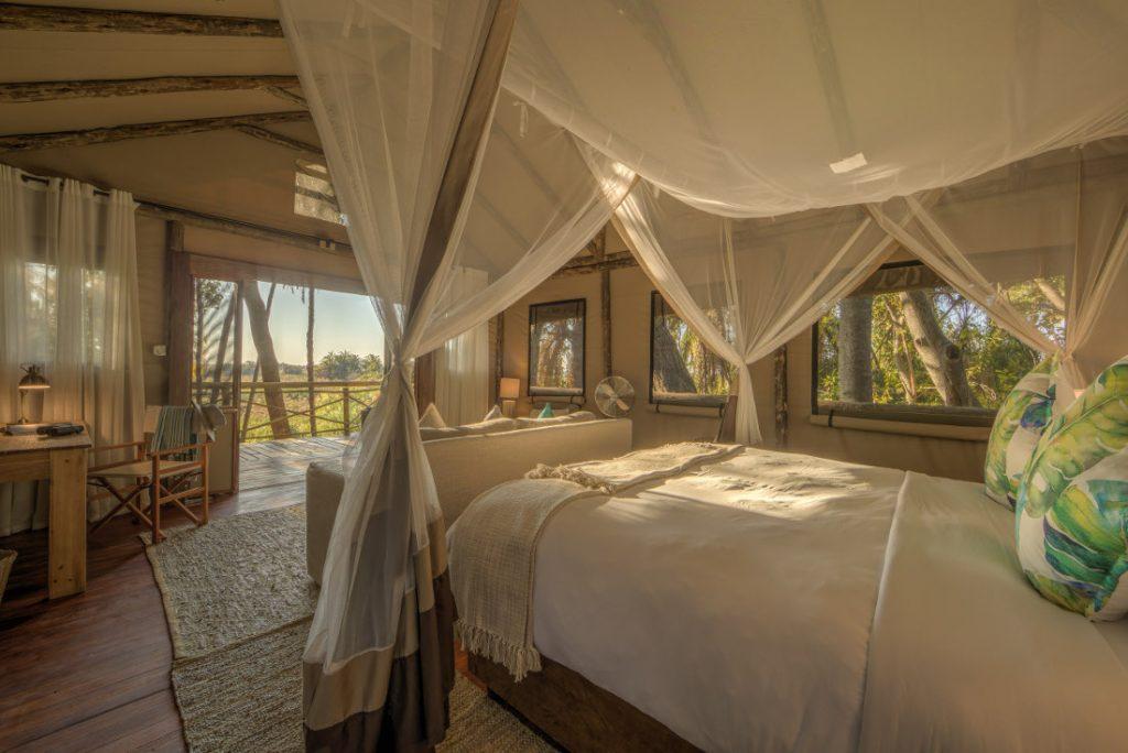 Botswana Okavango Delta Setari Camp Safarizelt Iwanowskis Reisen - afrika.de