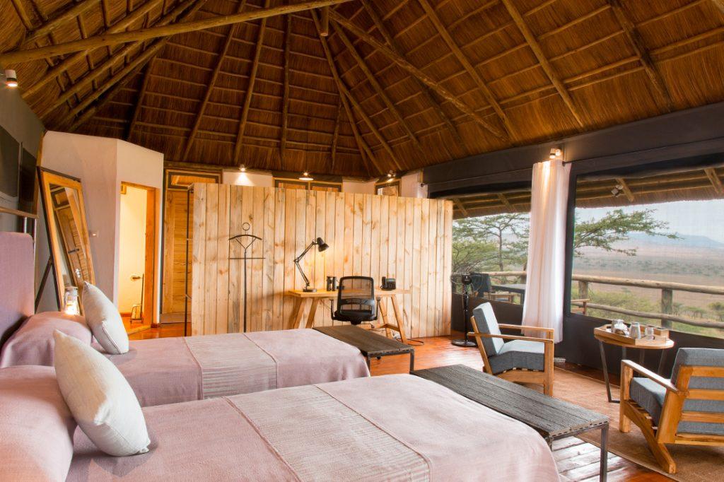 Tansania Serengeti Lahia Tented Lodge Zimmer Iwanowskis Reisen - afrika.de