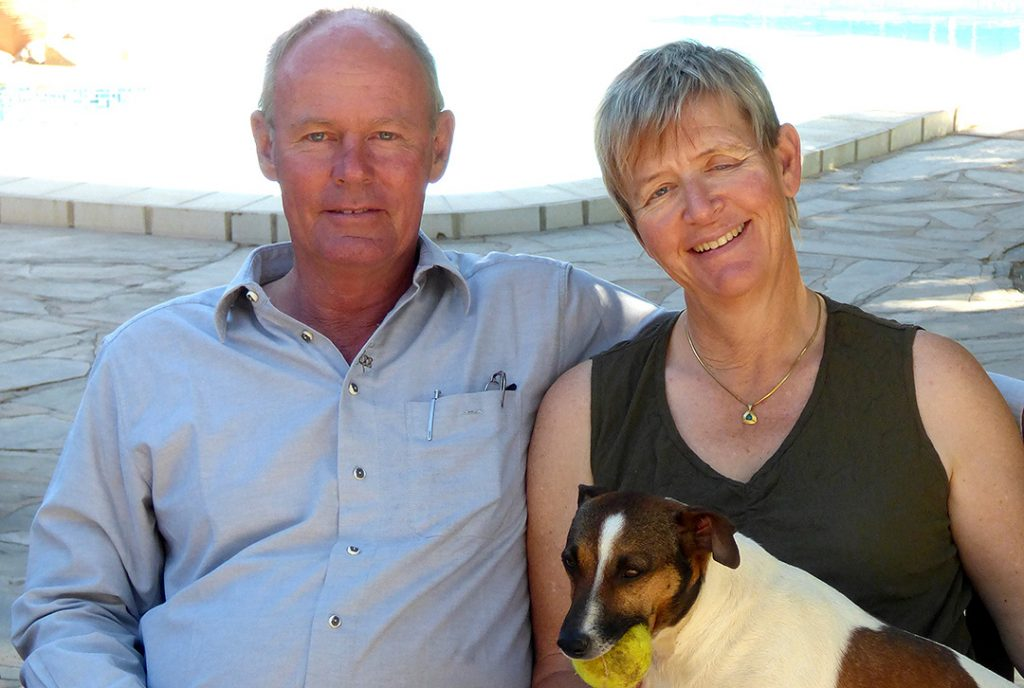 Namibia Naukluft BüllsPort Gastgeber Familie Sauber Iwanowskis Reisen - afrika.de