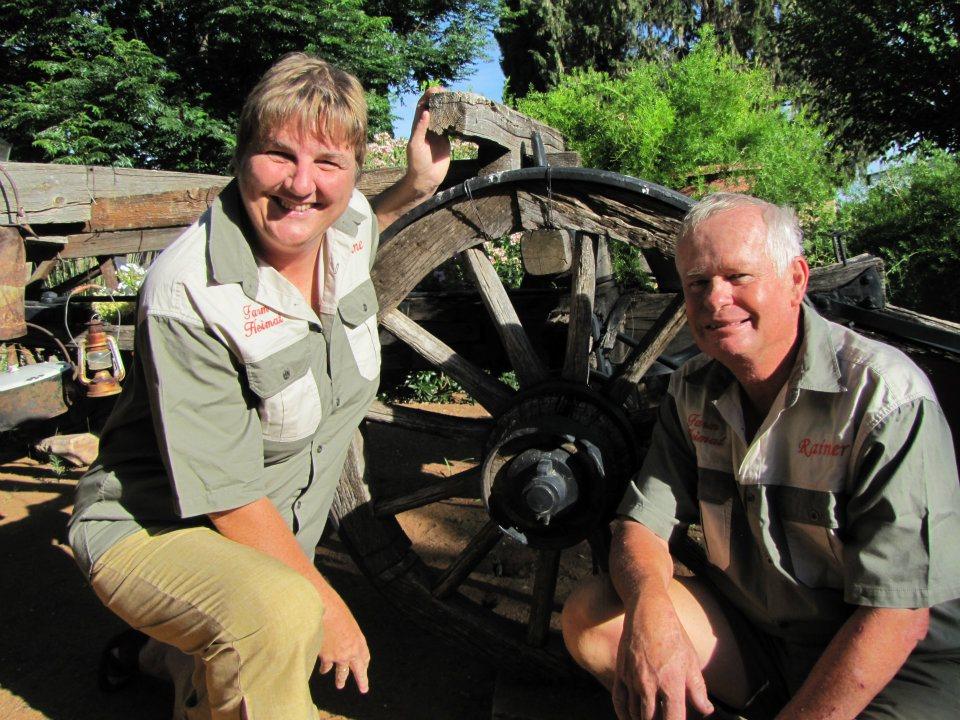 Namibia Dordabis Farm Heimat Marianne und Rainer Seifart Iwanowskis Reisen - afrika.de