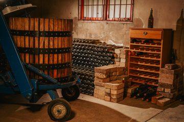 Namibia Otavi Mountains Boshoff Wines Estate Thonningii Weinfarm Weinkeller Iwanowskis Reisen - afrika.de