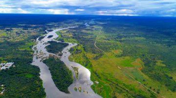 Namibia Caprivi Riverdance Lodge Luftaufnahme Iwanowskis Reisen - afrika.de