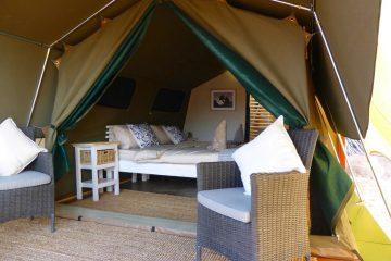 Namibia Twyfelfontein Adventure Camp Safarizelt Iwanowskis Reisenen - afrika.de