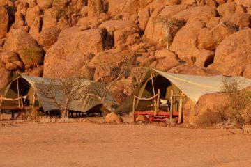 Namibia Twyfelfontein Adventure Camp Iwanowskis Reisenen - afrika.de