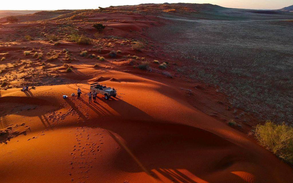 Namibia Solitaire Tsondab Valley Lodge Dünen Iwanowskis Reisen - afrika.de
