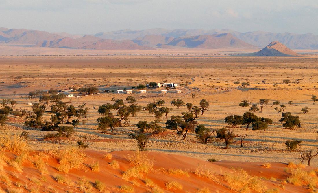 Namibia Sesriem Tsondab Valley Lodge Iwanowskis Reisen - afrika.de
