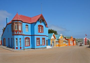 Namibia Lüderitz Architektur Iwanowskis Reisen - afrika.de