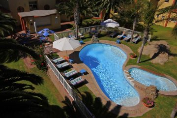 Namibia Lüderitz Nest Hotel Pool Iwanowskis Reisen - afrika.de