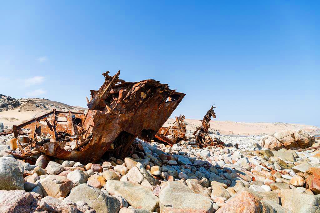 Namibia Skeleton Coast Park Shipwreck Lodge Schiffswracks Iwanowskis Reisen - afrika.de