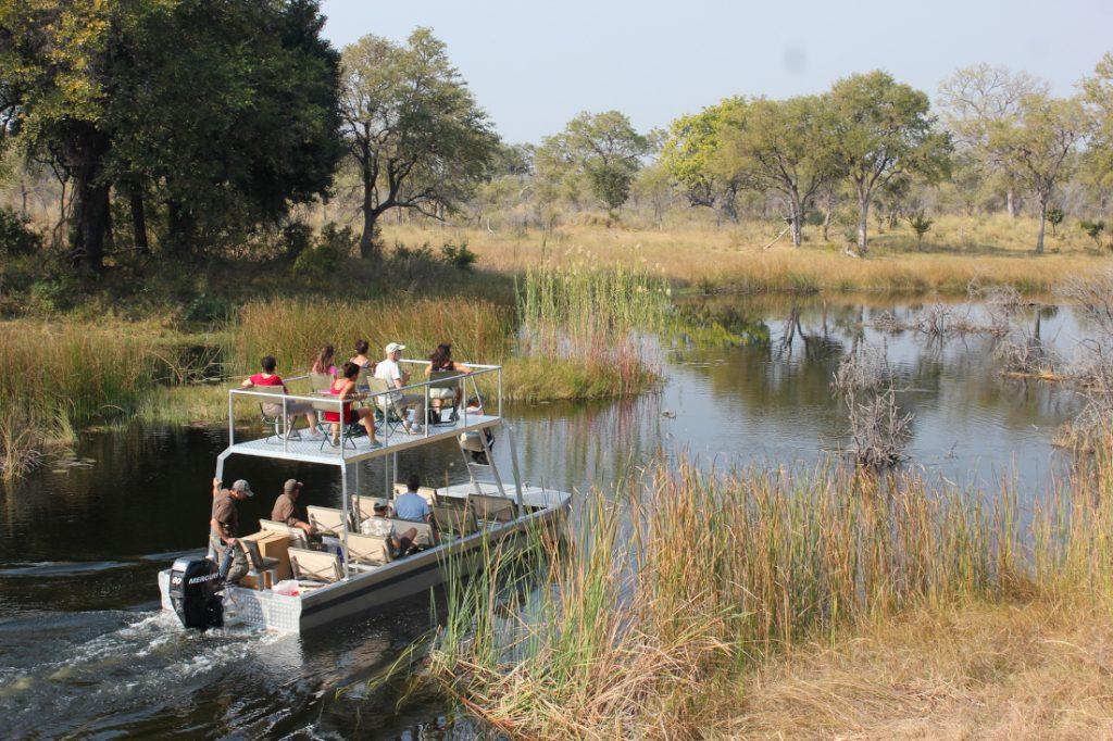 Namibia Caprivi Streifen Nkasa Lupala Tented Lodge Bootsfahrt Iwanowskis Reisen - afrika.de