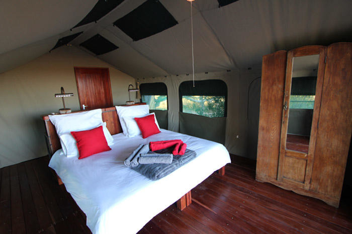 Namibia Caprivi Streifen Nkasa Lupala Tented Lodge Safarizelt Iwanowskis Reisen - afrika.de