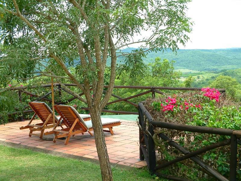 Südafrika Hazyview Chestnut Country Lodge Ausblick Iwanowskis Reisen - afrika.de