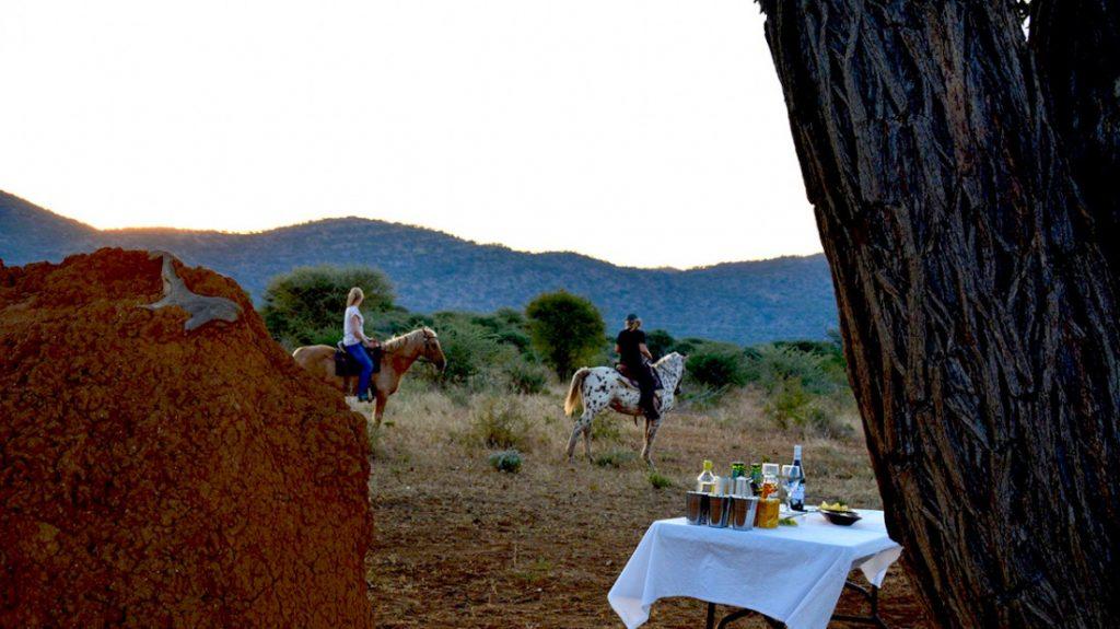 Namibia Otavi Gabus Game Ranch Reitausflug Iwanwoskis Reisen - afrika.de