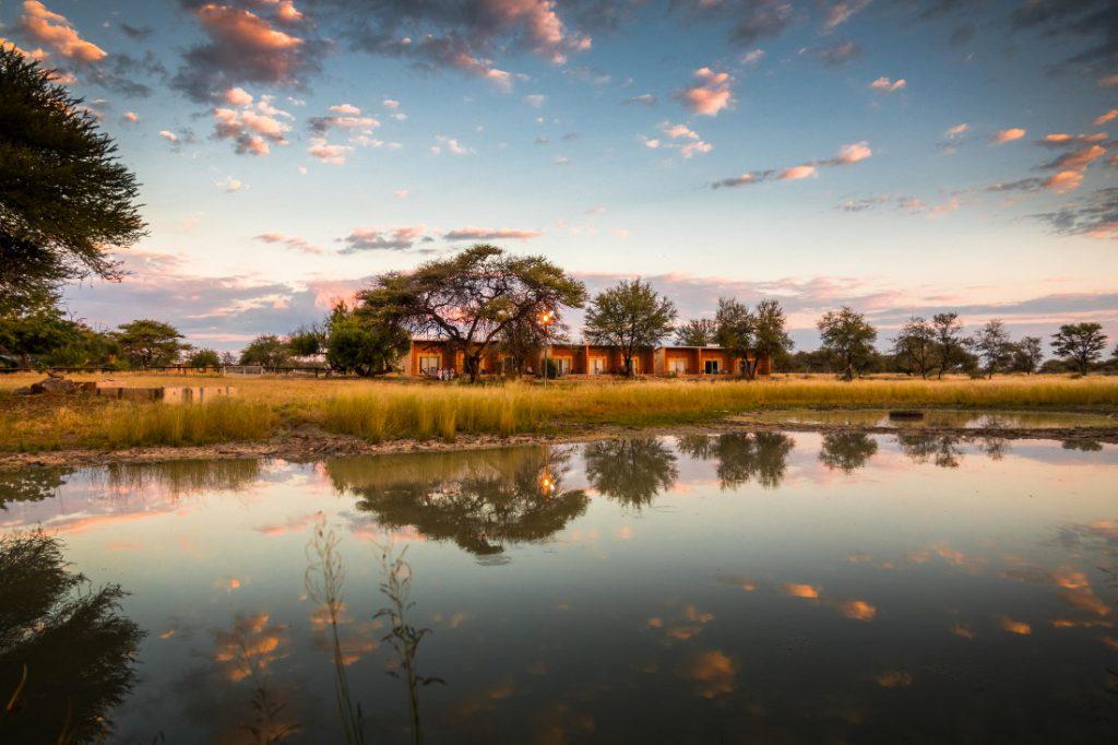 Namibia Otavi Gabus Game Ranch Wasserloch Iwanwoskis Reisen - afrika.de