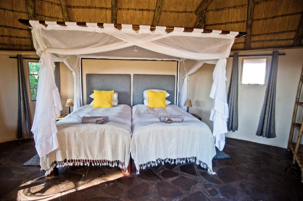 Namibia Palmwag Lodge Zimmer Iwanowskis Reisen - afrika.de