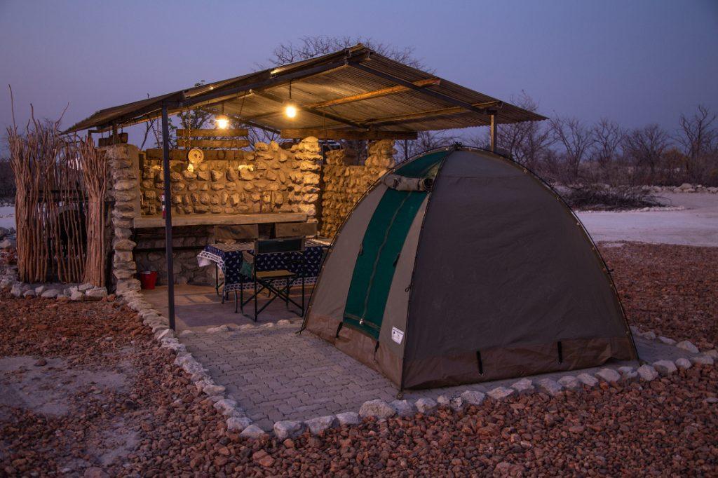 Namibia Etosha Trading Post Campsite Iwanowskis Reisen - afrika.de