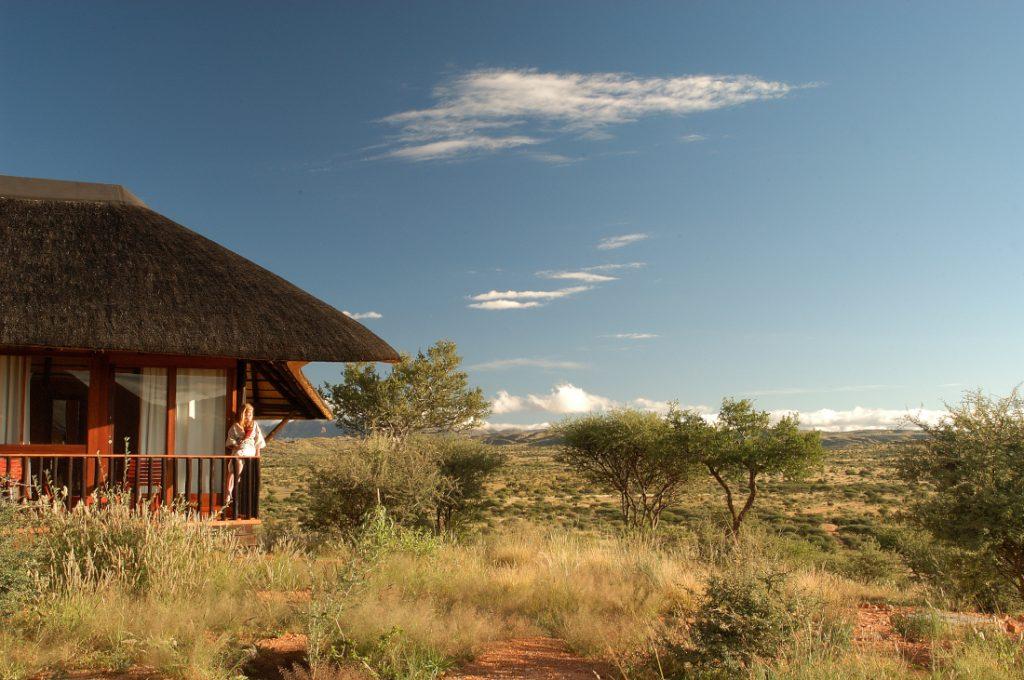Namibia Windhoek GocheGanas Nature Reserve Chalet Iwanowskis Reisen - afrika.de