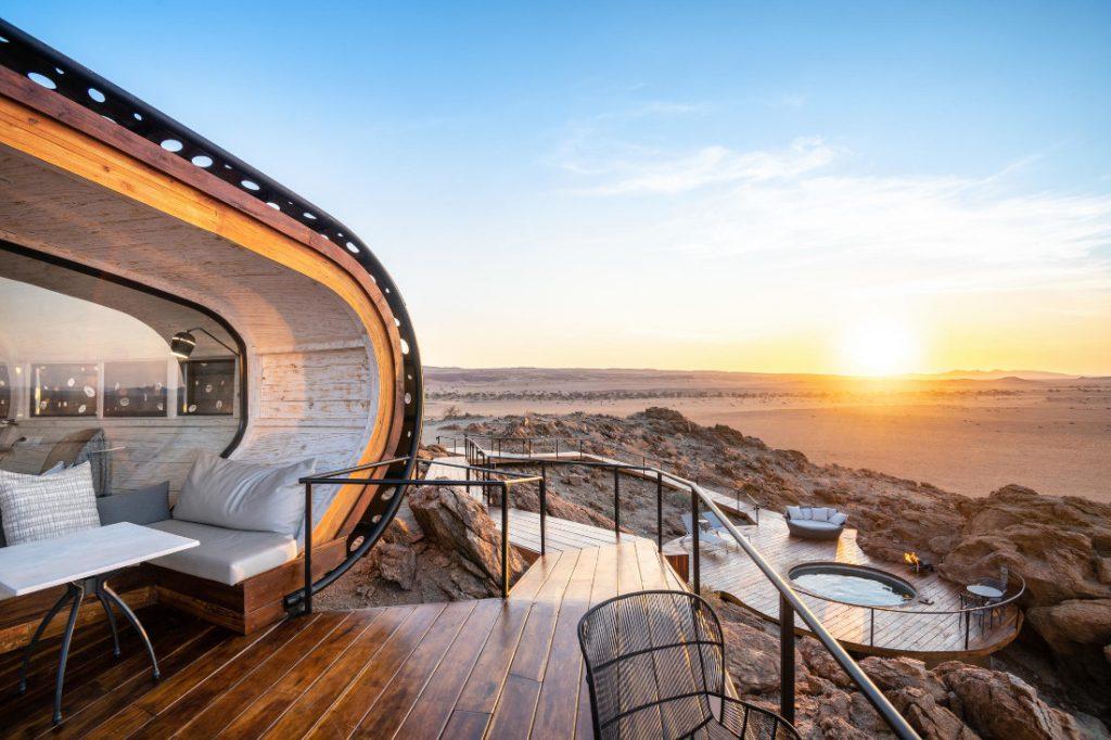 Namibia Namib Wüste Sossusvlei Desert Whisper Ausblick Iwanowskis Reisen - afrika.de