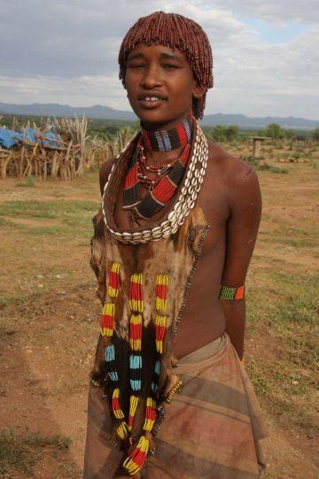 Äthiopien Hamer Frau Iwanowskis Reisen - afrika.de