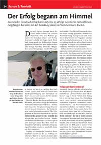 Bericht:DerErfolgbegannamHimmel-buchreport.magazin02/2008