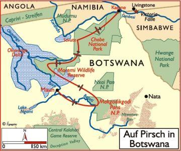botswana reisen safaris lodges