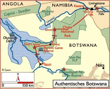 botswana reisen safaris lodges