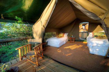 botswana camping reisen