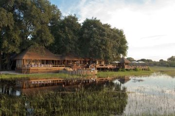 Botswana Flugsafari Moremi Game Reserve Chief's Camp - afrika.de